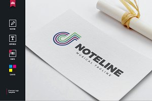 Note Line Logo