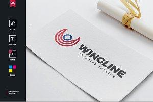 Wing Line Logo