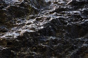 Rocky surface
