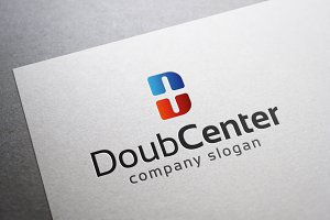 Double Center Logo