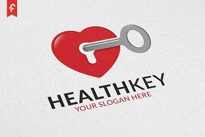 Health Key Logo