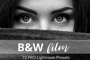 Black and White Film Presets