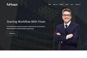 Finan – Finance & Business WP Theme