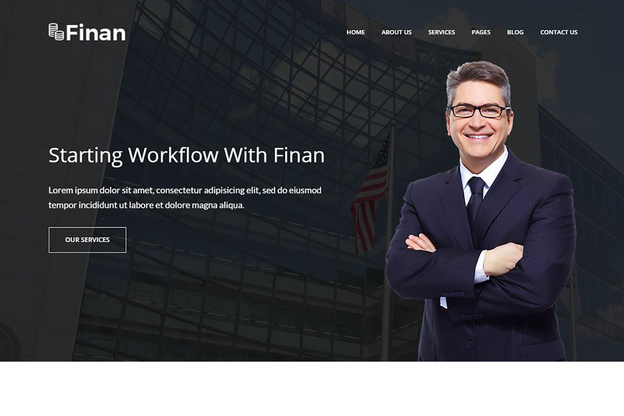 Finan – Finance & Business WP Theme