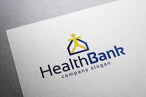 Health Bank Logo