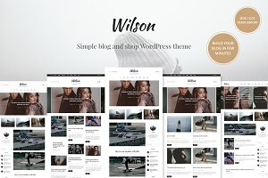 Wilson - WordPress Blog Theme