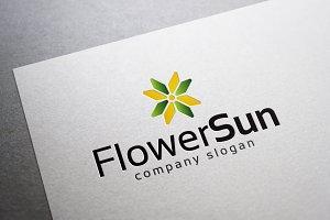 Flower Sun Logo