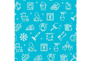 Cleaning Tools Background