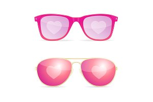 Sunglasses Pink Woman Dream