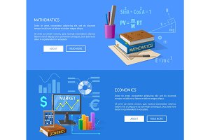 Mathematics and Economics Lessons Informative Page