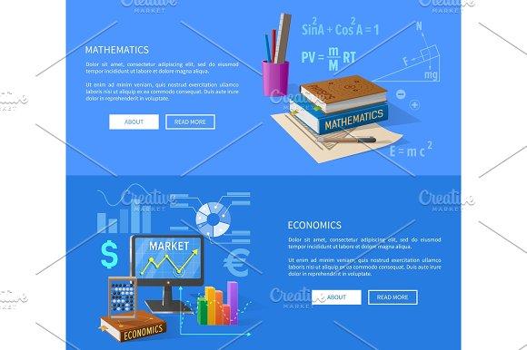 Mathematics and Economics Lessons Informative Page