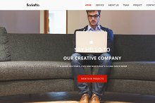 Socialto - Responsive One Page