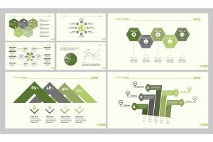 Seven Finance Slide Templates Set