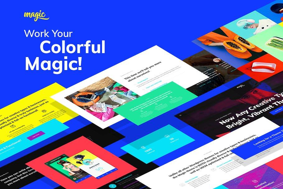 Image result for Magic - Multipurpose Creative WordPress Theme