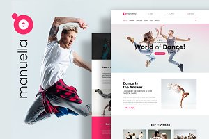 Dance School Wordpress Theme