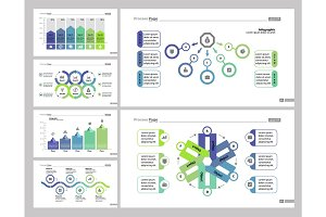 Six Analysis Slide Templates Set
