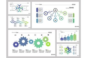 Six Consulting Slide Templates Set