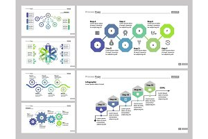 Six Finance Slide Templates Set