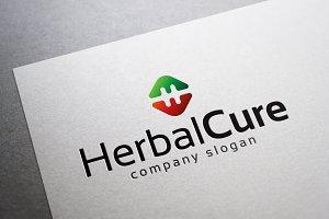 Herbal Cure Logo