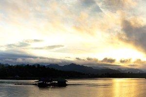panorama of Sangklaburi.