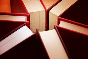 Books. Education concept.