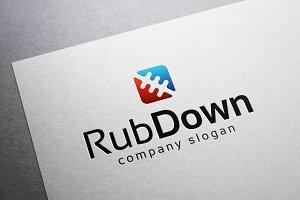 Rub Down Logo