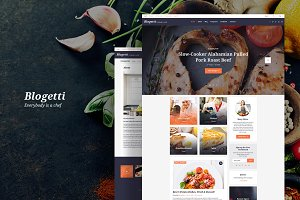 Blogetti - Food Blog WordPress Theme