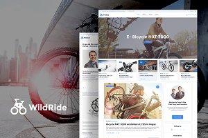 WildRide Startup Blog WP Theme
