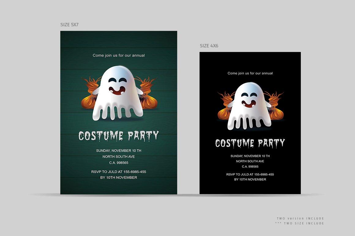 Halloween costume party invitations ~ Invitation Templates ...