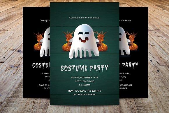 Halloween costume party invitations Invitation Templates – Costume Party Invitation
