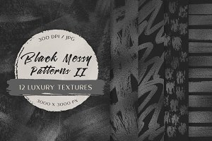 Black Messy Patterns