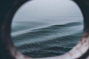 Dark Waves seen through Porthole