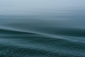 Dark Blue Ocean Wave Background