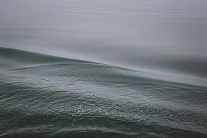 Dark Background with Ocean Waves