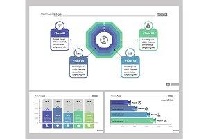 Three Business Slide Templates Set