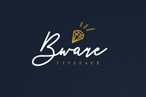 Bware Typeface - Free Vectors