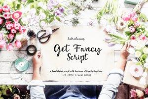 Get Fancy Script - Handwritten font