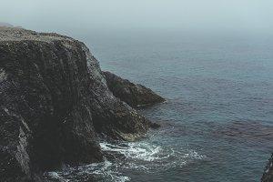 Cliff on Moody Coastline
