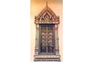Window background in Royal Grand King Palace