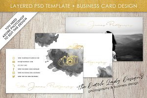 Photoshop business card template 4 business card templates photoshop business card template accmission Choice Image