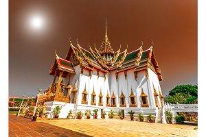 The Marble Temple of Wat Ben, Bangkok