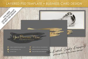 Photoshop Business Card Template #10