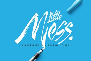 Little Mess font