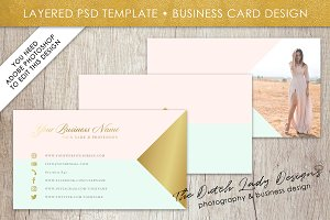 Photoshop Business Card Template #13