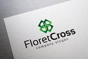 Floret Cross Logo