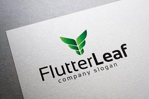 Flutter Leaf Logo