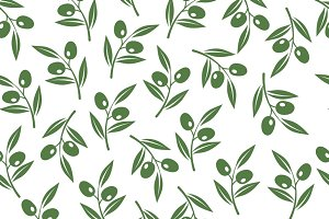 Olive tree branches texture