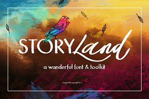 Storyland Font & Toolkit