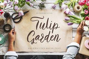 Tulip Garden Script.