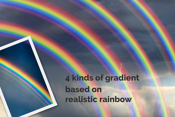 25 Rainbow Photo Overlays